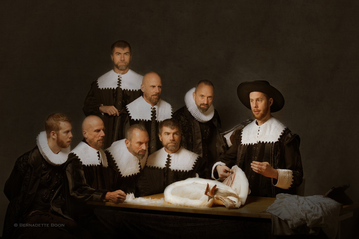 The Anatomy Lesson Of Dr Nicolaes Tulp By Rembrandt Image ...